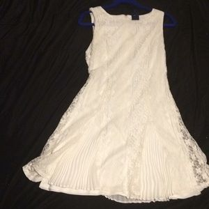 Xl Beauty and the Beast White Dress
